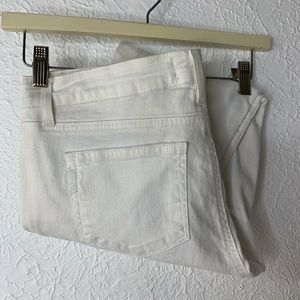 Paige Jimmy Jimmy Skinny White Ripped Jeans 28